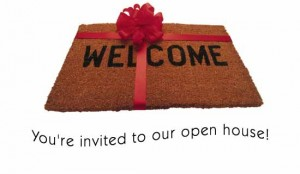 invitation open house
