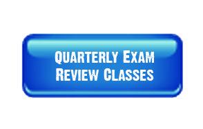 Quarterly Exam Review Classes