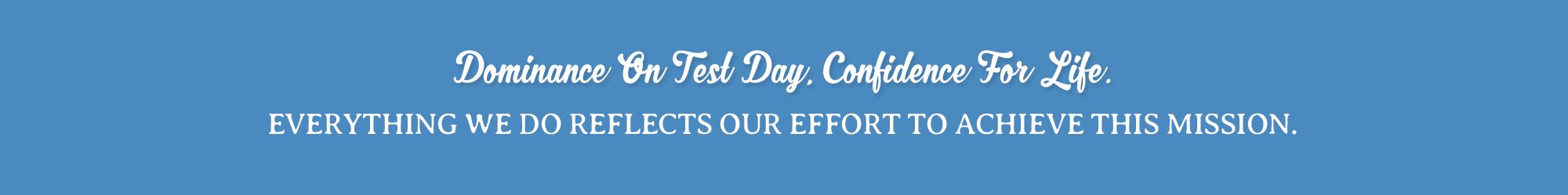 BrainStorm confidence on test day through college simulation tests in Bergen County