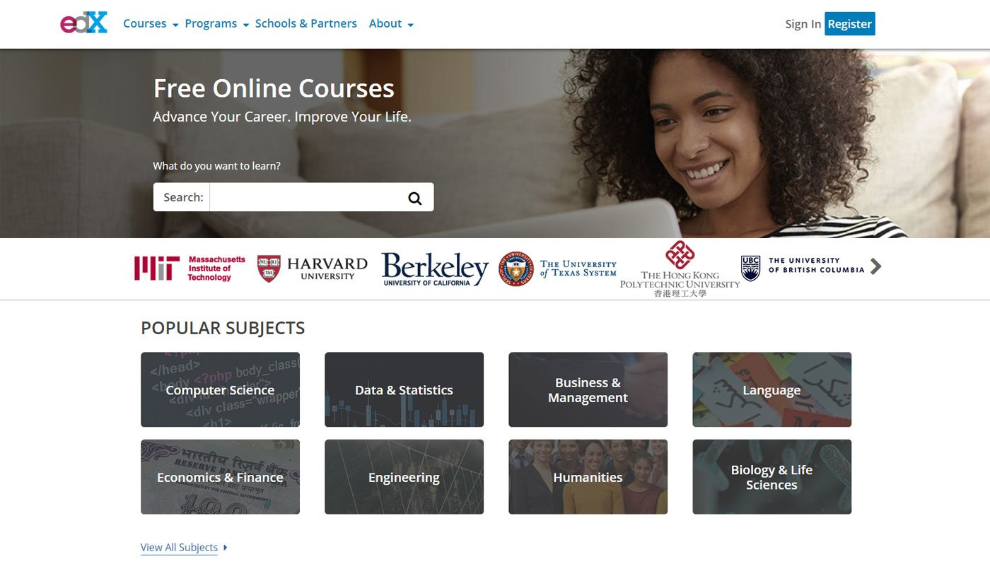 edX educational resources for students