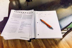 BrainStorm Tutoring news 4-12-18 image of school papers