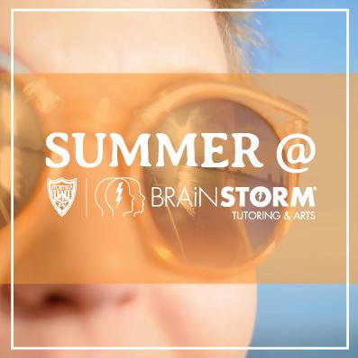 BrainStorm Summer Tutoring Programs