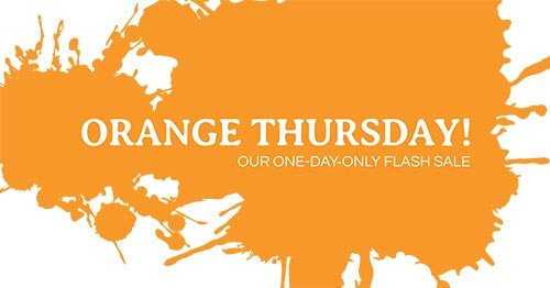 BrainStorm Tutoring Orange Thursday Sale 2020