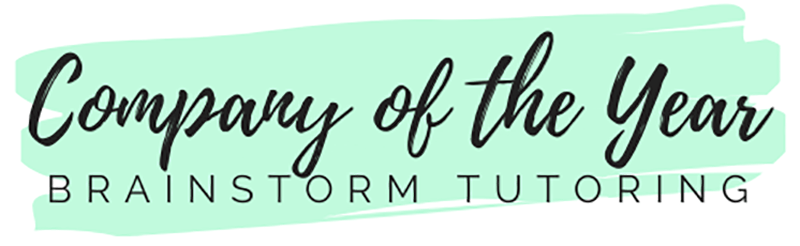 BrainStorm Tutoring company of the year